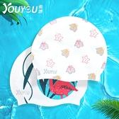 佑游新款時尚硅膠泳帽男女長發游泳帽防水舒適專業不勒頭游泳帽子 夏日新品