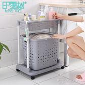 髒衣籃塑料洗衣籃 浴室衣物置物架 髒衣服收納筐收納籃髒衣簍大號 探索先鋒