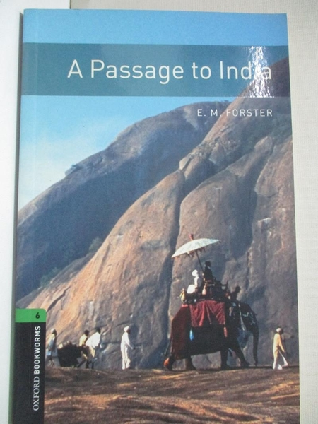 【書寶二手書T1/語言學習_IJ3】A Passage to India_Forster, E. M.