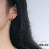 耳扣女小耳圈耳環耳骨釘耳骨環簡約耳飾【時尚大衣櫥】