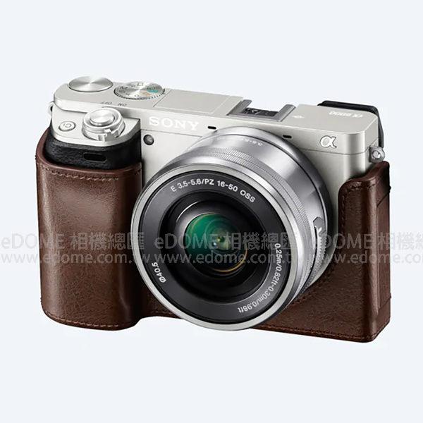 SONY LCS-EBE 原廠機身套 棕色 (6期0利率 免運 台灣索尼公司貨) 咖啡色 a6000 a6100 a6300 a6400 專用相機套