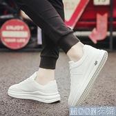 小白鞋男 新款男士休閒板鞋春季白鞋百搭潮鞋韓版潮流男鞋子 快速出貨