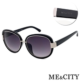 【南紡購物中心】【SUNS】ME&CITY 時尚圓框太陽眼鏡 義大利設計款 抗UV(ME 120019 L000)