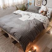 英格蘭  D3雙人床包與雙人新式兩用被五件組  100%精梳棉  台灣製