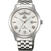 ORIENT 東方錶 WILD CALENDAR系列 寬幅日曆機械錶 SEV0P002W