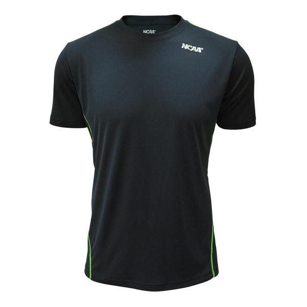 吸濕排汗衣 運動短袖T恤 極致輕量 NCAA(深藍拼接款)