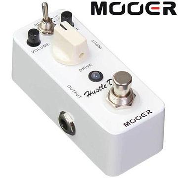 ★集樂城樂器★Mooer Hustle Drive 電子管失真效果器 Boots&Drive【Distortion Pedal】MREG-HD