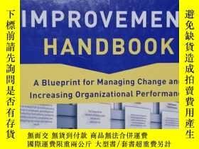 二手書博民逛書店the罕見process improvement handbookY254800 Tristan Boutro