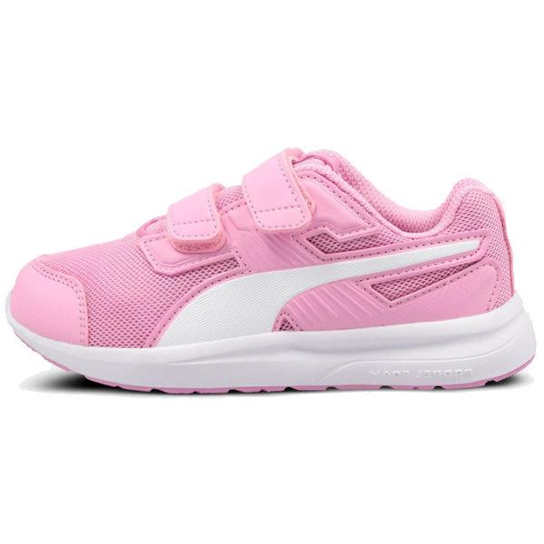 Puma Mesh 童鞋 粉色 運動鞋 魔鬼氈 休閒鞋 童鞋 中童鞋 19032609