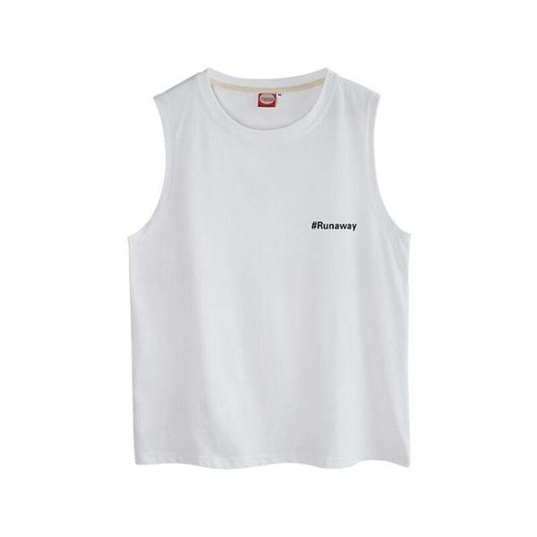 旋律風車男士背心學生印花套頭寬鬆無袖t恤夏季韓版潮流坎肩打底 台北日光