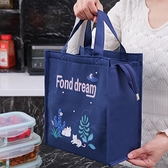 便當袋 學生防水便當包鋁箔加厚新款可愛飯盒袋上班族裝飯盒的袋子手拎包