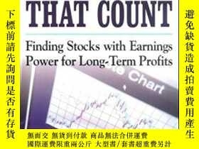 二手書博民逛書店It s罕見Earnings That Count : Find