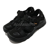 Teva M Omnium Faux Suede 黑 護趾涼鞋 男鞋 水陸機能涼鞋 【ACS】 TV1116202BLK
