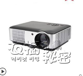 Rigal瑞格爾RD-806辦公投影機3D高清手機投影儀家用無線wifi小型家庭影院1080P激 雙十二全館免運