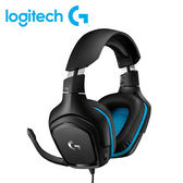 【Logitech 羅技】G431 7.1聲道電競耳機麥克風 【買再送手機指環支架】