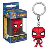 Funko POP!系列 Q版 Marvel漫威英雄 復仇者聯盟3 無限之戰 鋼鐵蜘蛛人 鑰匙圈