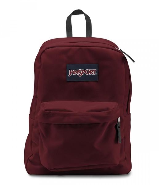 JANSPORT 校園後背包 基本款-聖誕紅-43501