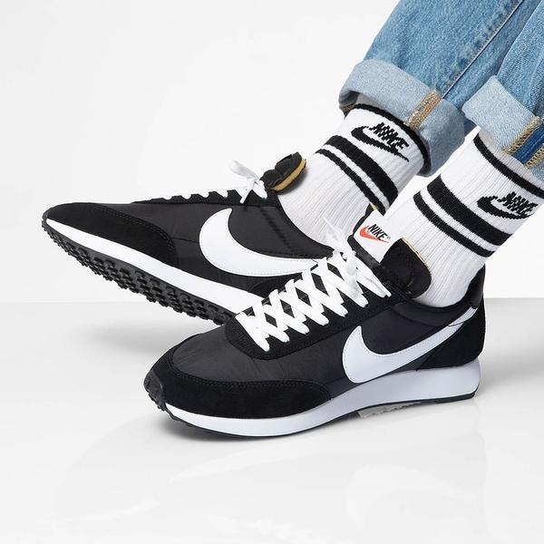 【黑5折後$2699】Nike Air Tailwind 79 男鞋 運動 休閒 慢跑 輕量 緩震 舒適 支撐 黑白 487754-012
