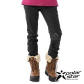 【PolarStar】女 內刷毛保暖長褲『黑』P20420 戶外│休閒│登山│露營│刷毛│冬季│禦寒│保暖