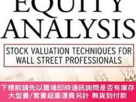 二手書博民逛書店Applied罕見Equity Analysis: Stock Valuation Techniques For
