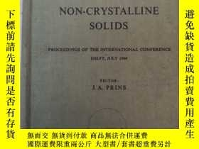 二手書博民逛書店physics罕見of non-crystalline soli