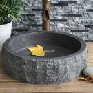 石度空間天然大理石頭洗手洗臉洗面盆復古藝術盆石頭洗手盆台上盆 MKS 99一件免運居家