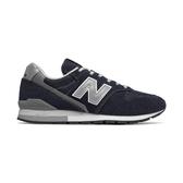 New Balance Cm996bn D [CM996BND] 男女鞋 運動 休閒 經典 麂皮 穿搭 情侶 深藍 銀