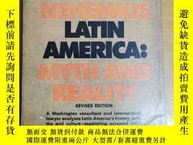 二手書博民逛書店英文原版:LATIN罕見AMERICA:Myth and RealityY367822 by PETER R.