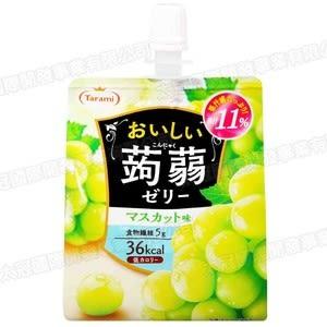 日本tarami果汁蒟蒻飲便利包青葡萄