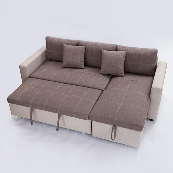 居品II收納L型沙發 -生活工場