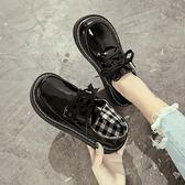 娃娃鞋女 原宿小皮鞋女學生韓版百搭ulzzang大頭鞋復古日繫軟妹娃娃單鞋潮 俏女孩