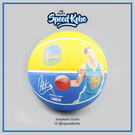SPALDING 籃球 NBA 勇士 CURRY 可瑞 #30 黃藍 人像 SPA83343【SP】
