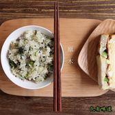包有味道日式原木六角實木筷子家用餐具