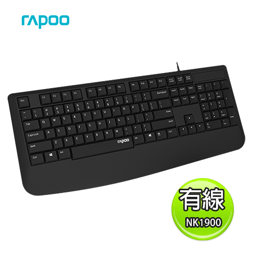 Rapoo 雷柏 NK1900 有線鍵盤