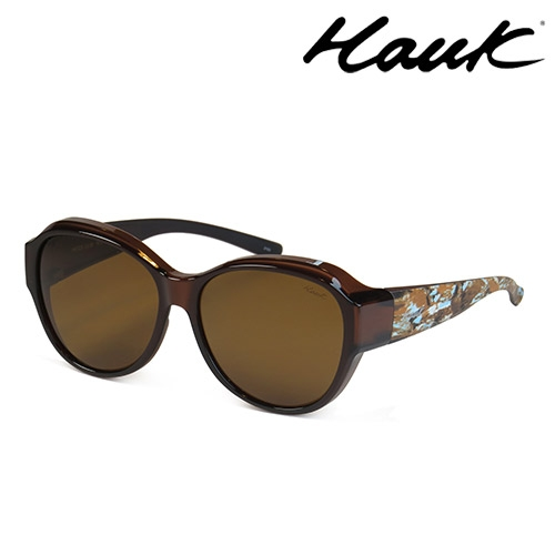 HAWK 新型薄框偏光太陽眼鏡套鏡(2用)HK1029-98
