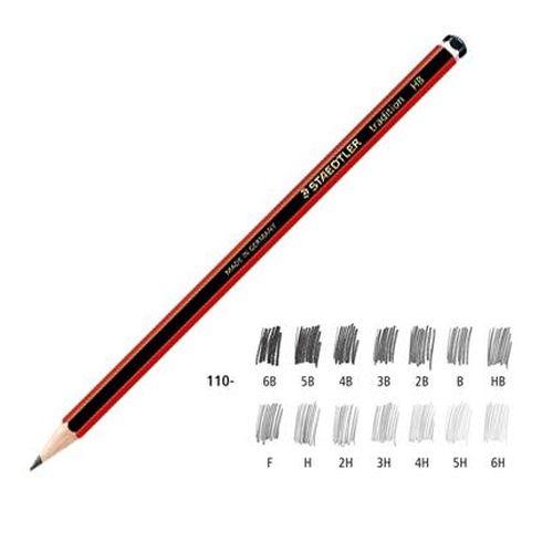《享亮商城》MS110-4B 紅武士經典繪圖鉛筆 施德樓