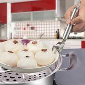 不銹鋼取碗器盆碗夾抓碗夾防燙夾盤器多功能提盤器取盤夾子   卡菲婭
