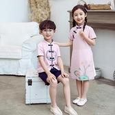 六一兒童演出服裝民國風童裝男女童小學生表演服漢服幼兒合唱園服「錢夫人小鋪」
