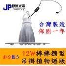 吊掛式植物生長燈 價格 12W / 12瓦 10入起訂 棒棒糖型 植物燈板 -紅9藍3 JNP017