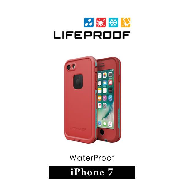 【G2 STORE】 LifeProof iPhone 7  fre 防水防摔 保護殼 - 紅