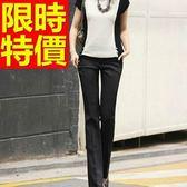西裝長褲-OL新款氣質典型美觀愜意女褲子2色59z3[巴黎精品]