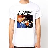 Life 相片 Lomo 寫真 搖滾 短袖T恤-白色 290 美國棉 gildan t-shirt