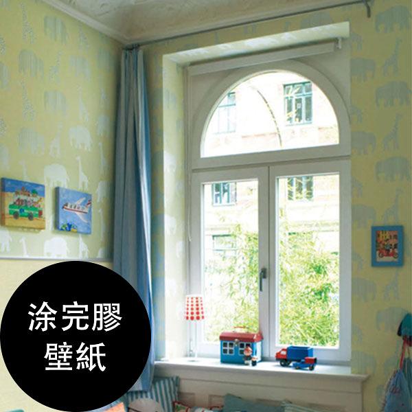 【塗完膠壁紙- 單品5m起訂】兒童房 動物紋 牆紙 LV-6452 Lilycolor