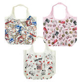 【KP】Hello Kitty 45週年 摺疊環保提袋 三麗鷗  購物袋 正版日本進口授權 DTT0522344