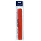 日本 DELRIN # 701 專業抗菌剪髮梳 橘色   擁有二種梳齒密度  耐熱 耐藥品性
