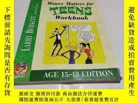 二手書博民逛書店MONEY罕見MATTERS FOR TEENS WORKBOOKY9212