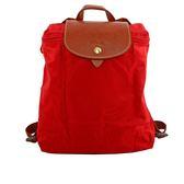 【LONGCHAMP】LE PLIAGE尼龍折疊後背包(正紅色)1699089545