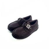 經典圓楦 皮面 小紳士皮鞋《7+1童鞋》A375棕色