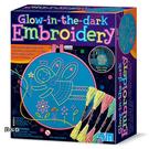 《4M美勞創作》夜光刺繡大師 Glow Embroidery ╭★  JOYBUS玩具百貨