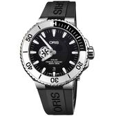 星際大戰聯名限量 Oris 豪利時 Stormtrooper 機械錶-43mm 0174377344184-SETRS(膠帶款)